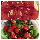 bresaola e insalata