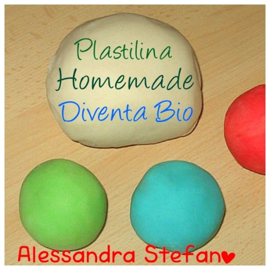 plastilina fatta in casa