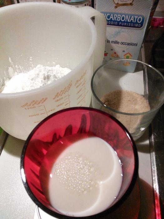 Ingredienti muffin